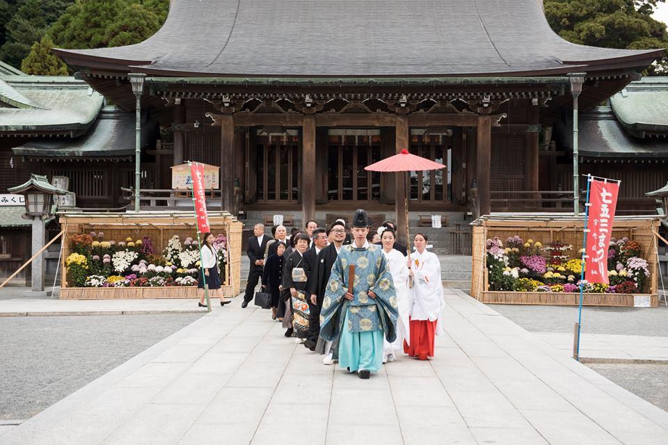 宮地嶽神社挙式
